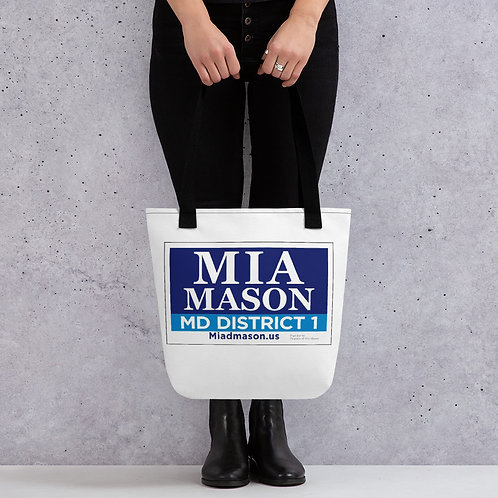 Voting Tote bag by Friends of Mia Mason