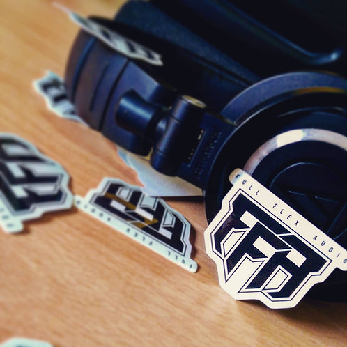 Full Flex Audio Die-Cut Sticker (Original Logo)