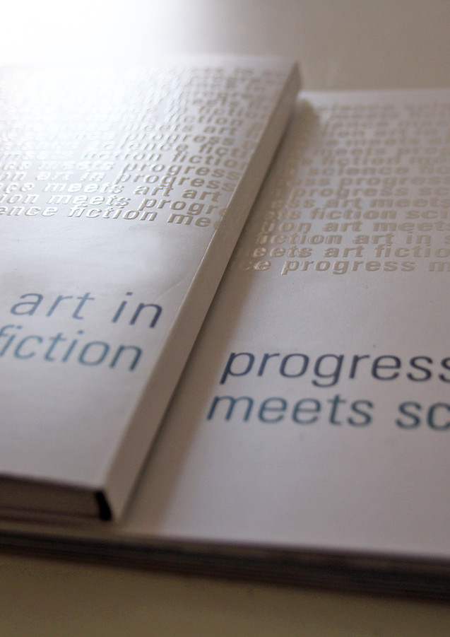 Art in progress / fiction meets science. A book project.