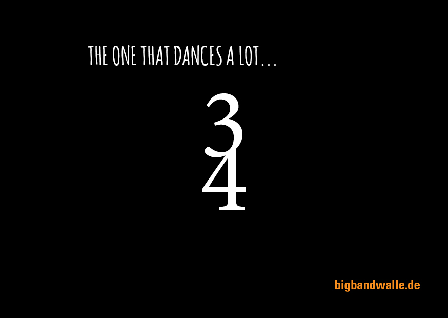 The one that dances a lot