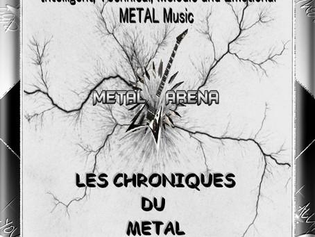 LES CHRONIQUES DU METAL N°28