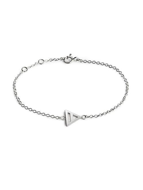 eco silver bracelet