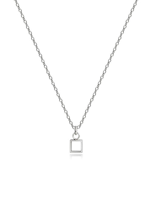 Geo Quadratic Necklace