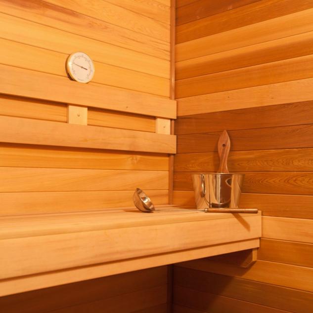 Sauna at HHF