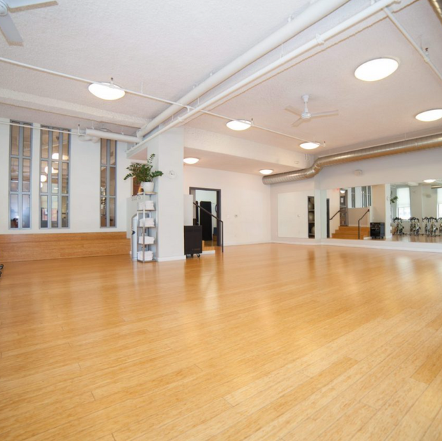 Group Fitness Room at HHF