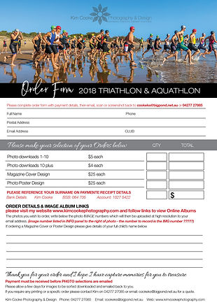 Agnes Water Triathlon & Aquathlon Photo