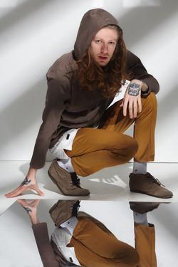 коттоновый худи и штаны