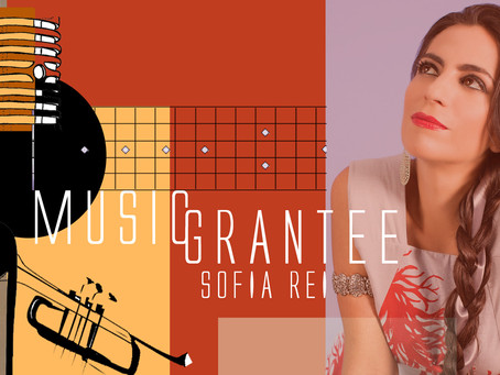 Sofia Rei receives a Cafe Royal Cultural Foundation Grant