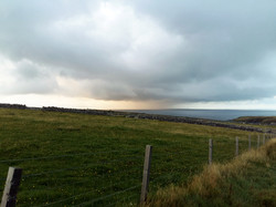 Storm in the North Sea from Smoo Lodge S