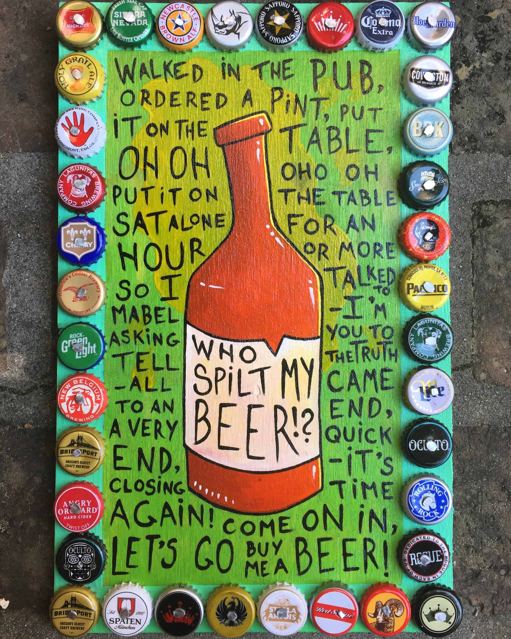 Who Spilt My Beer!?