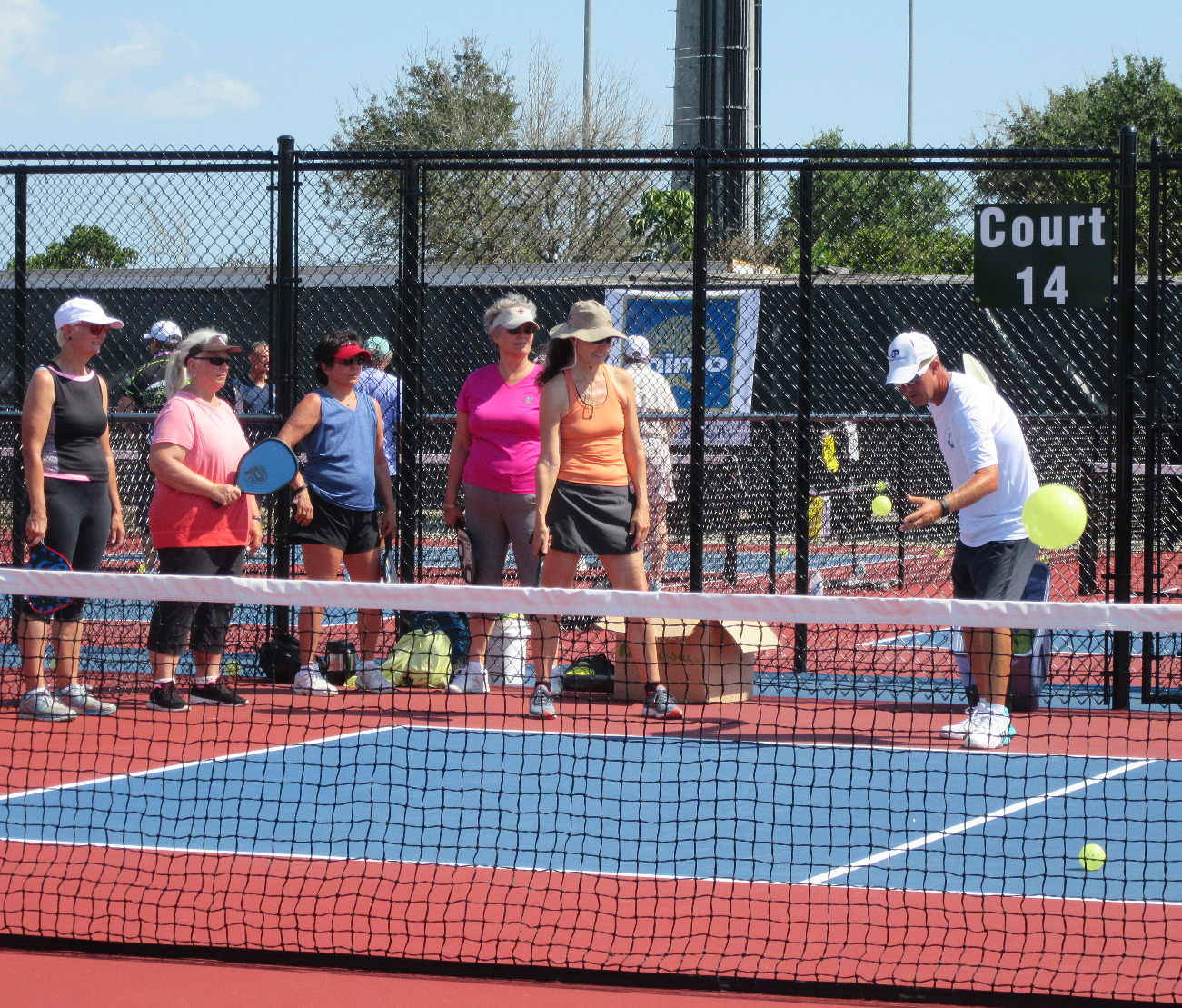 Clinics at US Open