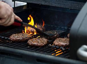 Hambúrgueres no Grill