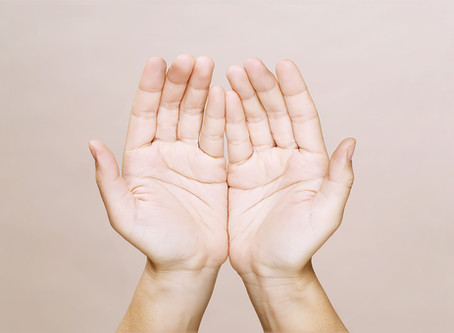 How the cupped hand position for Reiki changed my life
