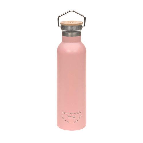 Nerūsējošā tērauda pudele (rozā) (700 ml)