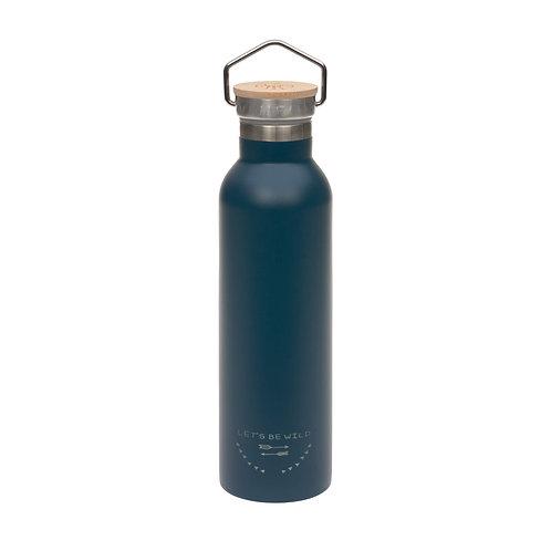 Nerūsējošā tērauda pudele (zila) (700 ml)