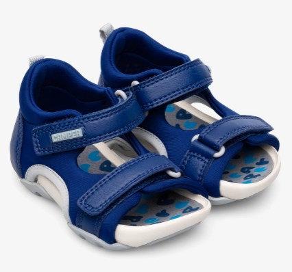 Ous sandals (blue)