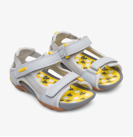 Ous sandales (pelēkas)