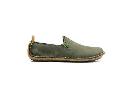 Ababa leather kids (botanical green)