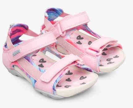 Ous sandales (rozā)