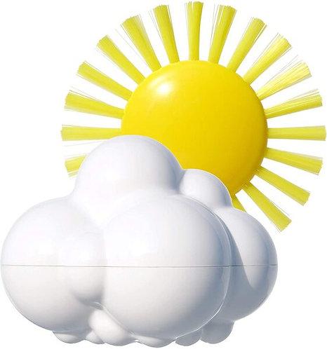 Laikapstākļi - saulīte+mākonītis