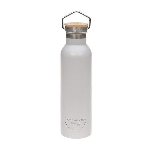 Nerūsējošā tērauda pudele (pelēka) (700 ml)