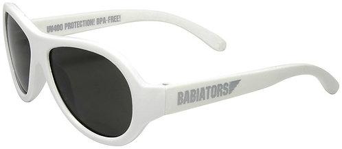 Babiators saulesbrilles baltas