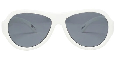 Wicked White Aviator saulesbrilles
