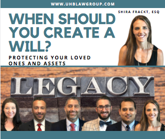 Shira and Estate Planning