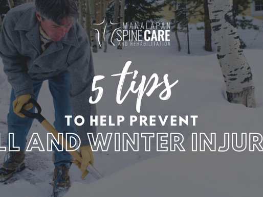 5 TIPS TO HELP PREVENT FALL AND WINTER INJURIES
