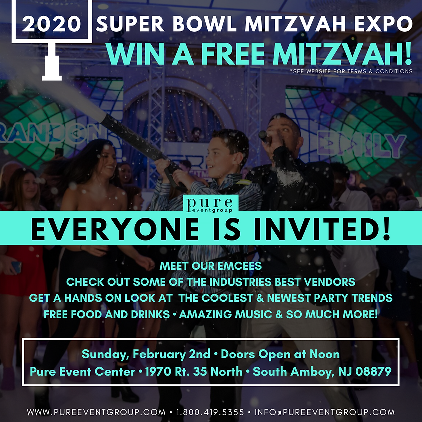 2020 Super Bowl Mitzvah Expo