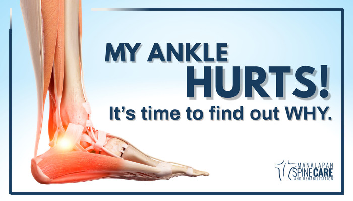 My Ankle Hurts! It's time to find out WHY.