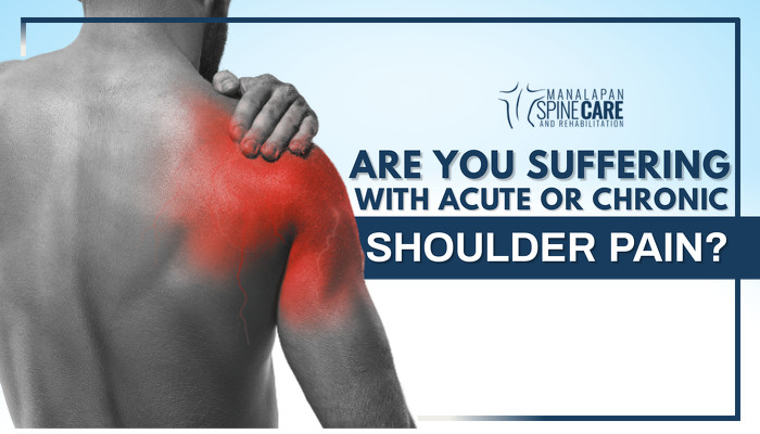 Are You Suffering with Acute or Chronic Shoulder Pain?