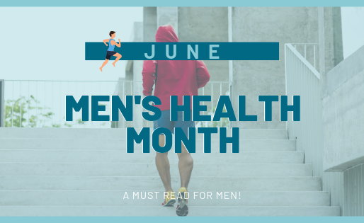 June is Men's Health Month