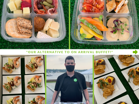 In Thyme's Alternative to On-Arrival Buffet