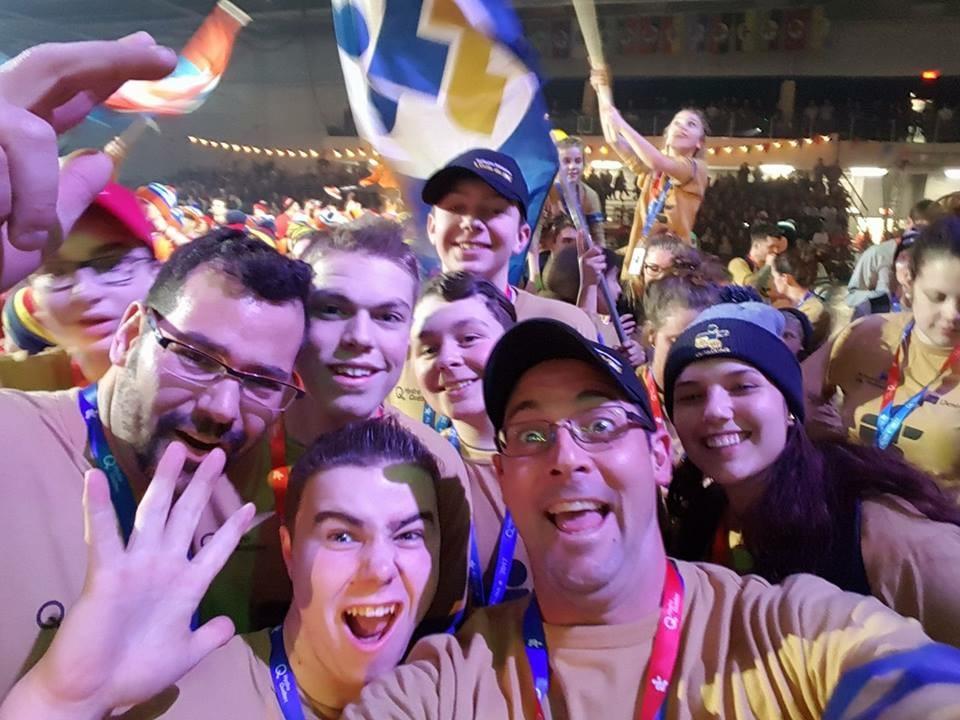Ouverture des Jeux du Québec