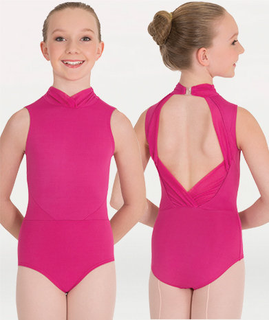 Mesh Open Back Leotard