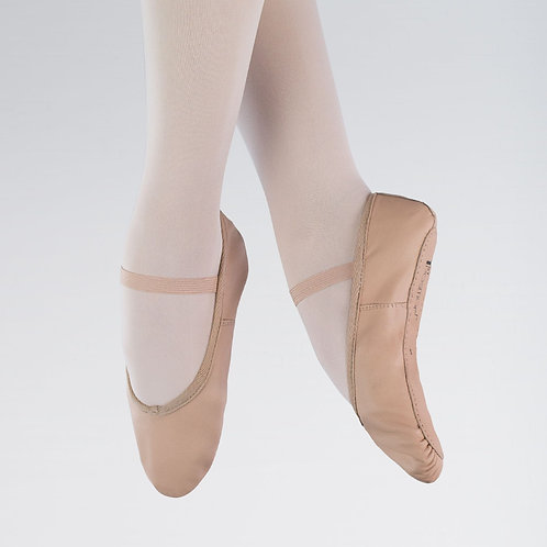 1st Position Full Sole Leather Ballet Shoe