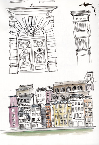 Lyon sketches