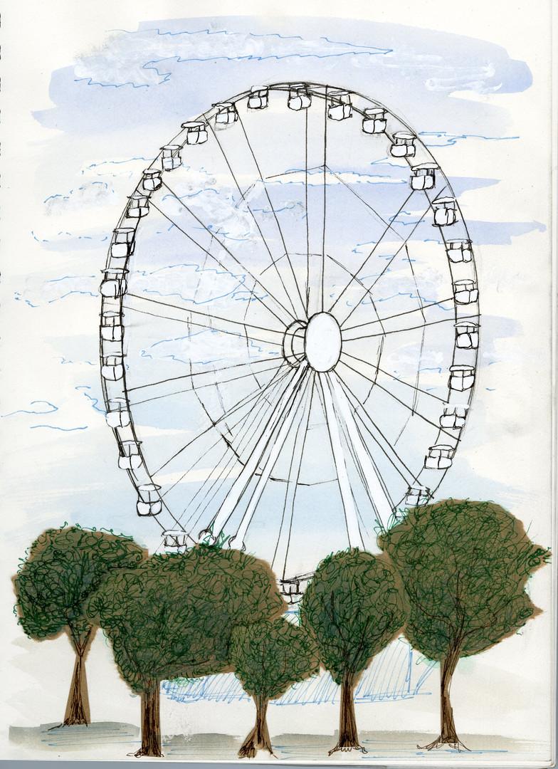 Marseille Ferris wheel