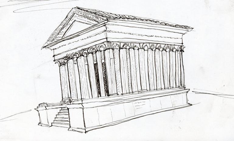 Temple in Nime