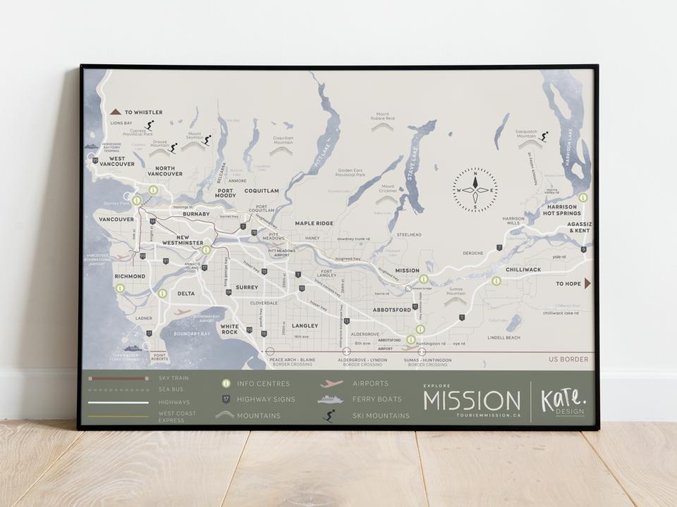 Mission Tourism Maps