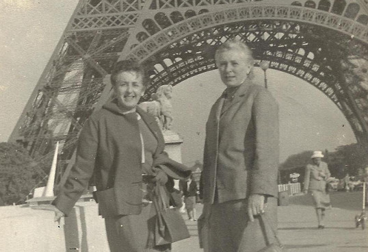 Ninita e Lili - Paris - 1962