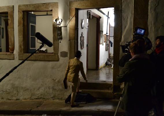 """Making Of do filme """"Flores Raras""""."""