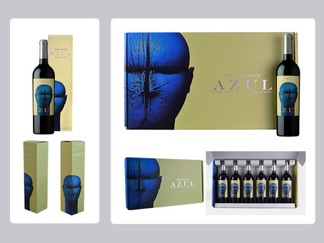 New Skin: Azul cardboard Cases.