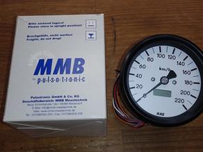 MMB電気式スピードメーター(80φ)。