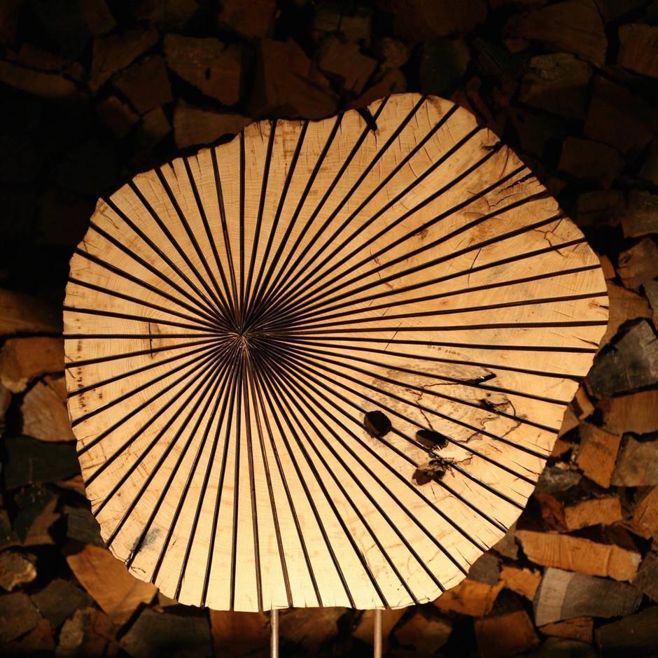 Lucas Castex, sculpture bois, art, landes