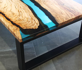 TIMBER & RESIN COFFEE TABLES