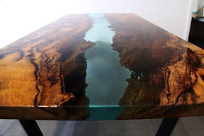 RESIN RIVER DINING TABLES