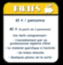 Tarifs et conditions du Canyon découverte dans les Pyrénées Atlantiques