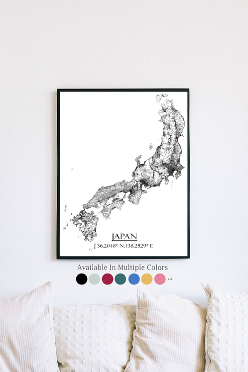 Japan and all its roads